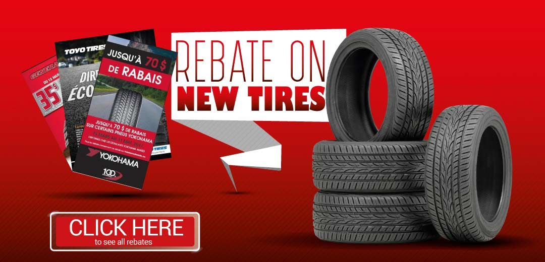 View discounts on current tires